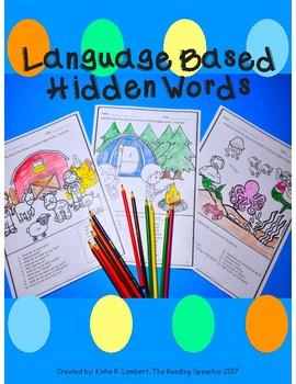 Language Based Hidden Words NO PREP