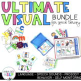 Ultimate Visual Bundle for Preschool Speech and Language Therapy