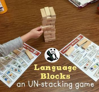 Language Blocks: A Speech Therapy UN-stacking Game!