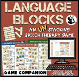 Language Blocks: A Speech Therapy UN-stacking Game! + Goog