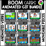 Language Boom Cards Speech Therapy   Bundle   Animated Ver