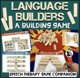 Language Builders: A Speech Therapy Building Game! Low-Pre