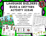 Language Builders Bugs & Critters Activity Scene