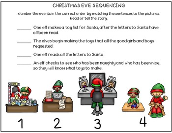 Language Builders Christmas Activity Scenes