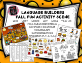 Language Builders Fall Fun Activity Scene