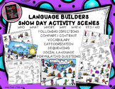 Language Builders Snow Day Activity Scenes