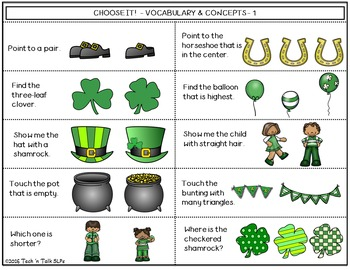 Language Builders St. Patrick's Day Activity Scene