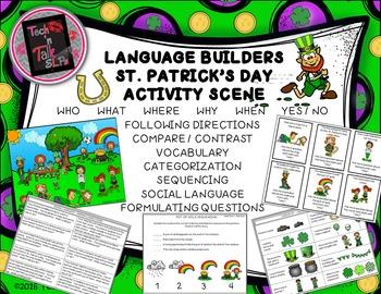 Language Builders St. Patrick's Day Activity Scene