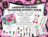 Language Builders Valentine Activity Scene