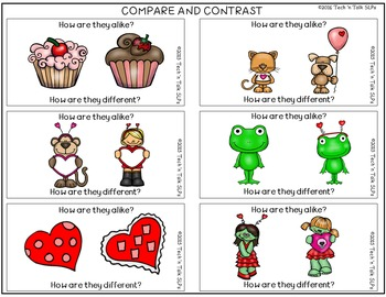 Language Builders Valentine Activity Scene
