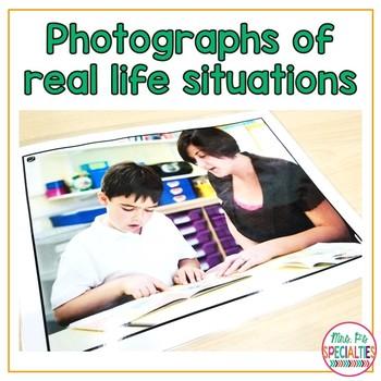 Language Building Photo Set: Back To School
