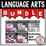 Language Bundle Capitalization Punctuation Parts of Speech