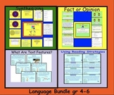 Language Bundle:Synthesizing,Text Features, Reading Strate