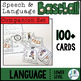 Language COMPANION SET for Speech and Language Baseball (L