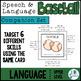 Language COMPANION SET for Speech and Language Baseball (Upper Level)