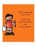 Language-Capitalization and Punctuation Test Prep (ITBS style)