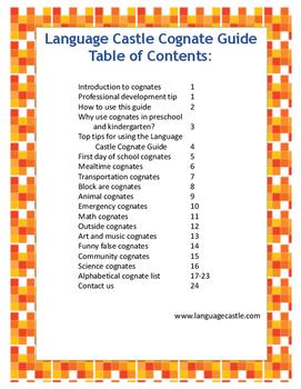 Language Castle Cognate Guide