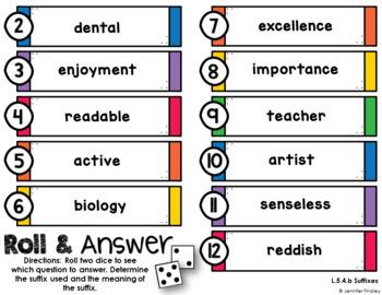 Language Centers {5th Grade Common Core}