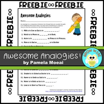 Language Centers:  Awesome Analogies