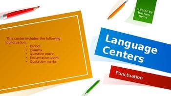 Language Centers: Punctuation