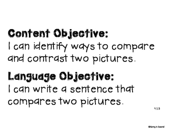 Language Central - Daily Content and Language Objectives - Units 4-6 - 4th Grade