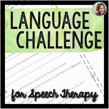 Language Challenge