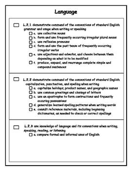 Language Checklist
