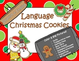 Language Chrstmas Cookies English & Spanish!