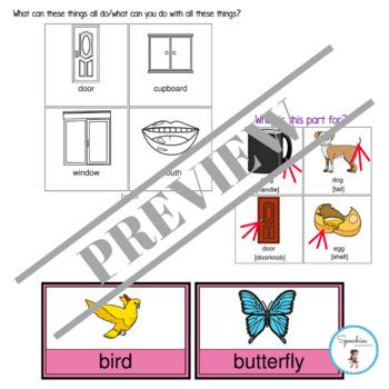 Language Comprehension Booster Bundle: Classification Tasks (Blanks 2)