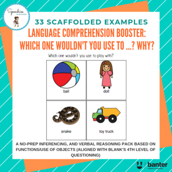 3ad62a30c Language Comprehension Booster: Which one wouldn't you use to ...