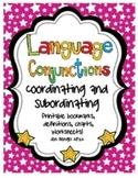 Language Conjunctions: Coordinating & Subordinating Printa