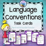 Language Conventions Task Cards