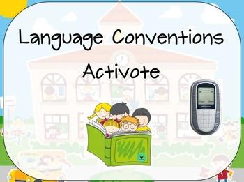 Language Conventions Activote Flipchart