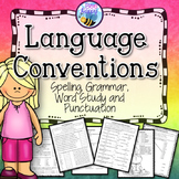 Language Conventions Worksheets