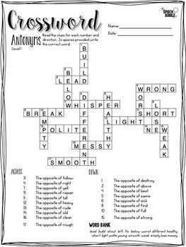 Language Crossword Puzzles