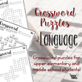 Language Crossword Puzzles