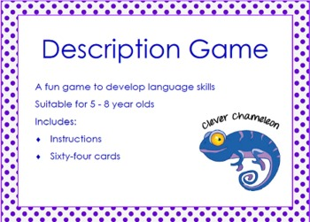 Language Description Game