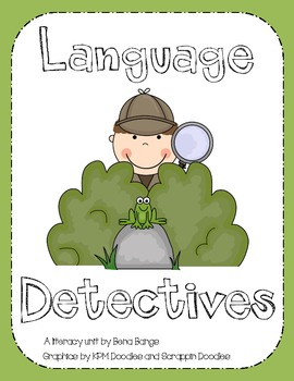 {Language Detectives!} A Literacy unit for learning letter sounds