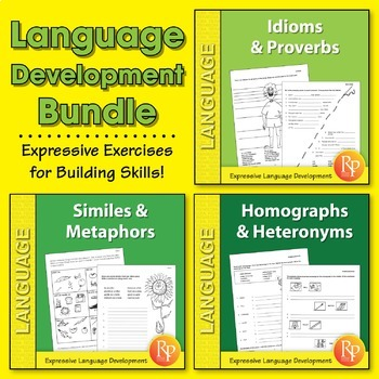 Language Development {Bundle}