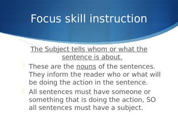 Language Development: Creating Stronger Sentence Structure Bundle