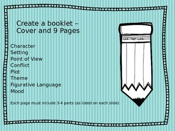 Language Devices Guide to Book Report Booklet
