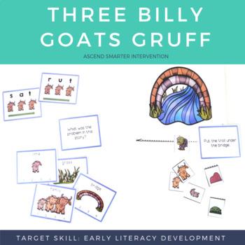 Literacy Center Activities - Three Billy Goats Gruff