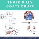 Literacy Center Activities - Three Billy Goats Gruff (Stor