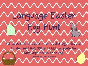 Language Easter Egg Hunt
