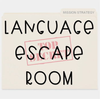 Language Escape Room