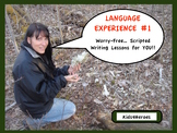 Language Experience #1 Silent Nature... Sit  & Share