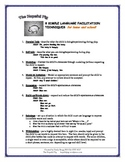 Language Facilitation Handout - for home and school
