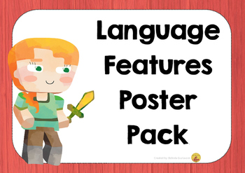 Language Features Posters - Australian Made