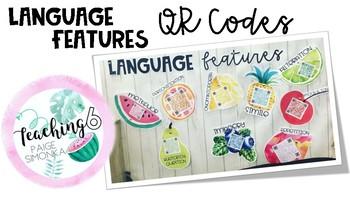Language Features QR Codes