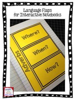 Language Flaps for Interactive Notebooks EDITABLE